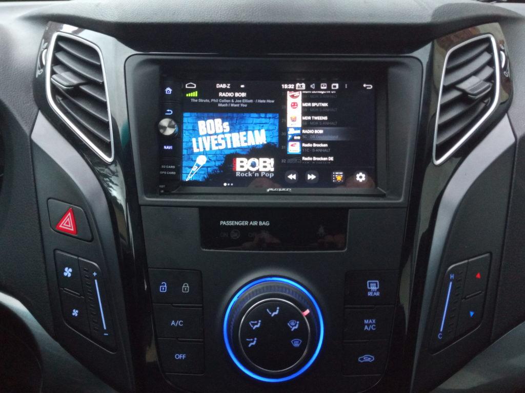 Hyundai i40 mit Android Autoradio