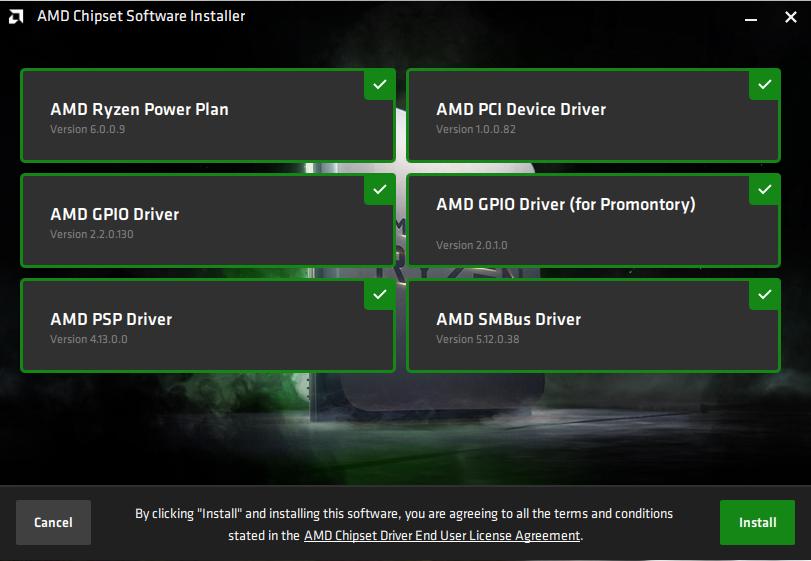 AMD AM4 Chipsatztreiber