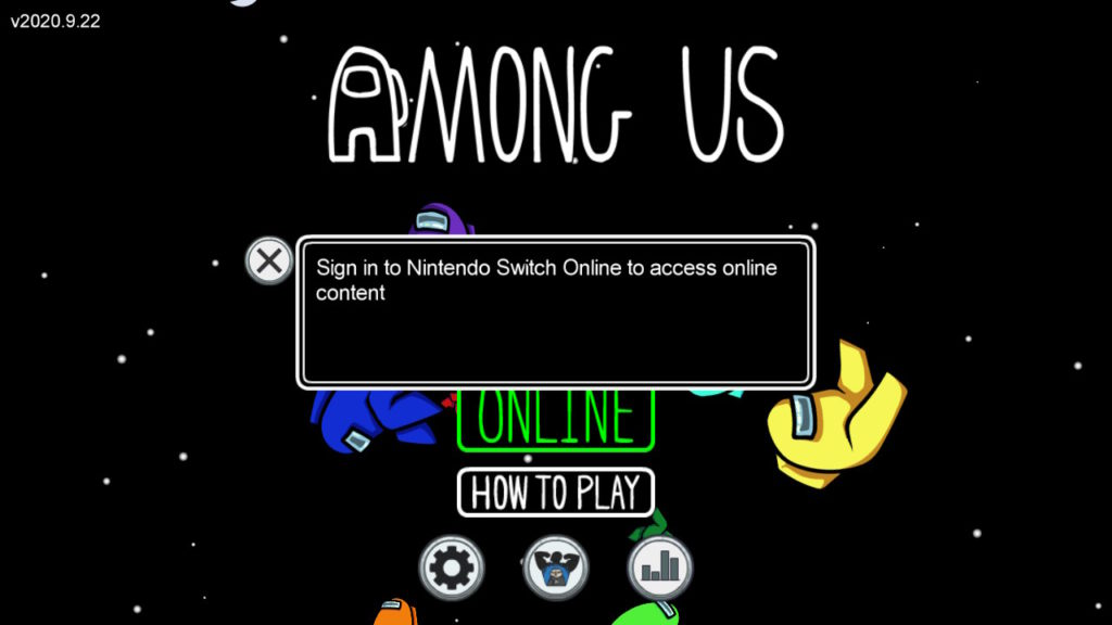 Among Us Nintendo Switch Online