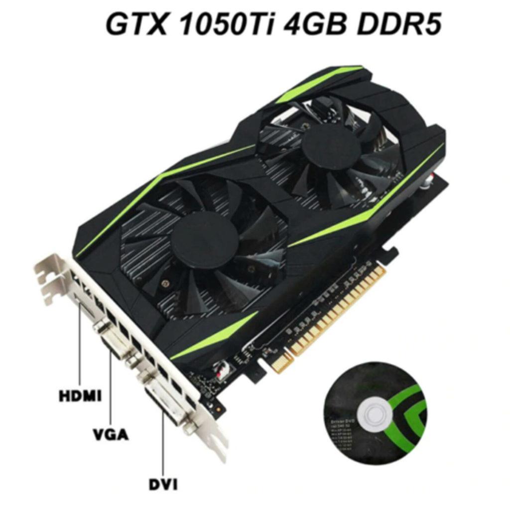 Fake Nvidia GTX 1050TI